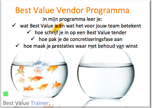 Best Value Vendor Programma